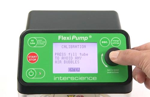 FlexiPump - distributed volume