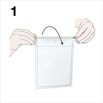 BagClip - Quick closure - Fold it up