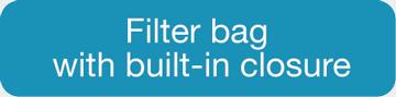 BagFilter Pipet & Roll - Sac Filtre à fermeture intégrée EN