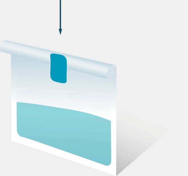 BagFilter Roll - Waterproof closure