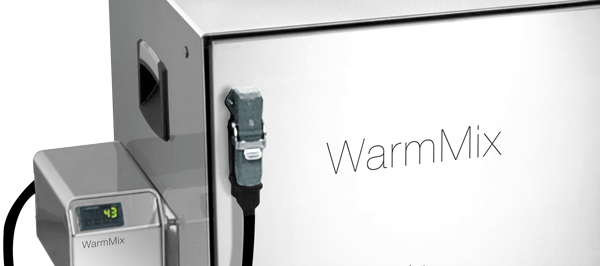 JumboMix 3500 Warmix CC - Heating door