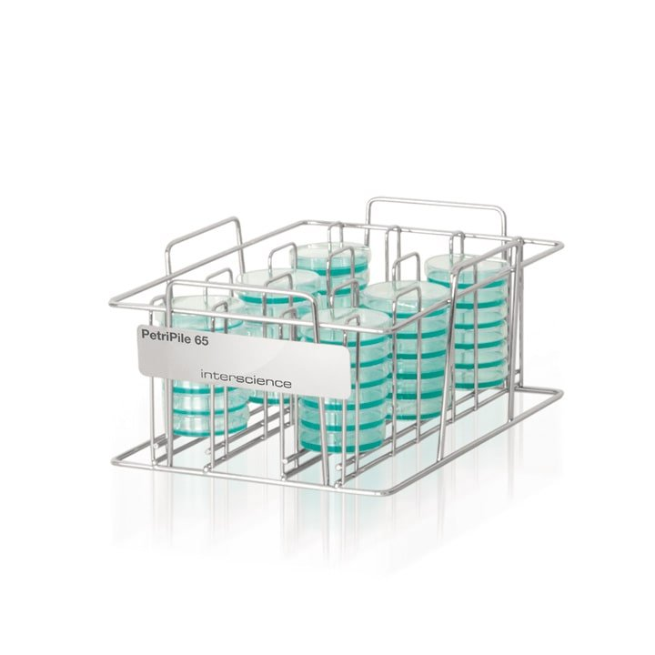 Petripile 65 (Ref. 241 065) - Storage stack for 36 Petri dishes Ø 65 mm